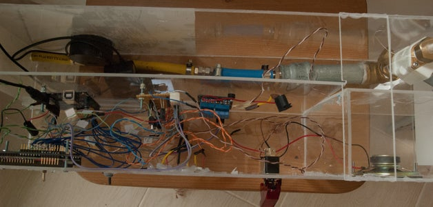 Straw-rocket Launcher Controlled by Arduino