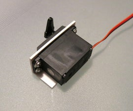 Simple PVC Servo Holder