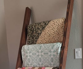The $10 Dollar Blanket Ladder Build