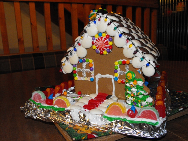 Picture of Gingerbread House Contest Submission