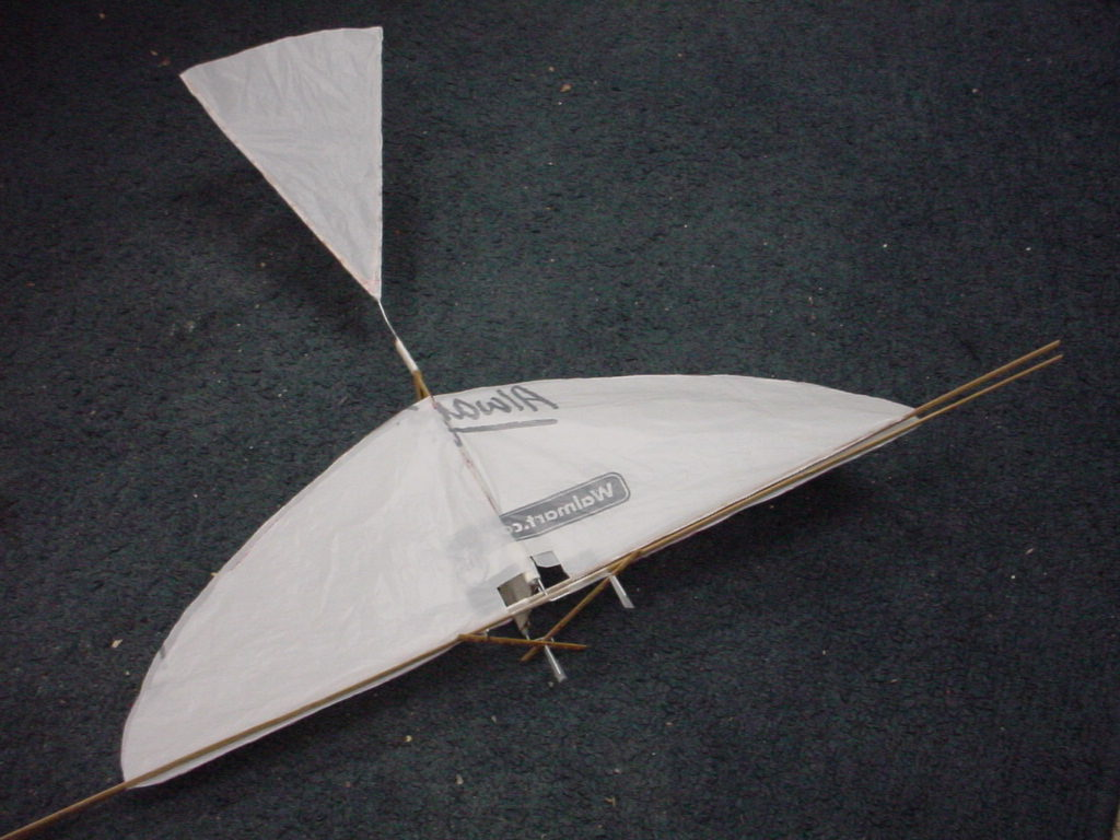 Picture of The Flying Scrooge: Ornithopter of Household Items