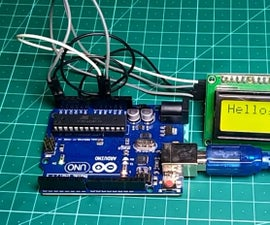 I2C / IIC LCD Display   Use a SPI LCD to the I2C LCD Display Using SPI to IIC Module With Arduino