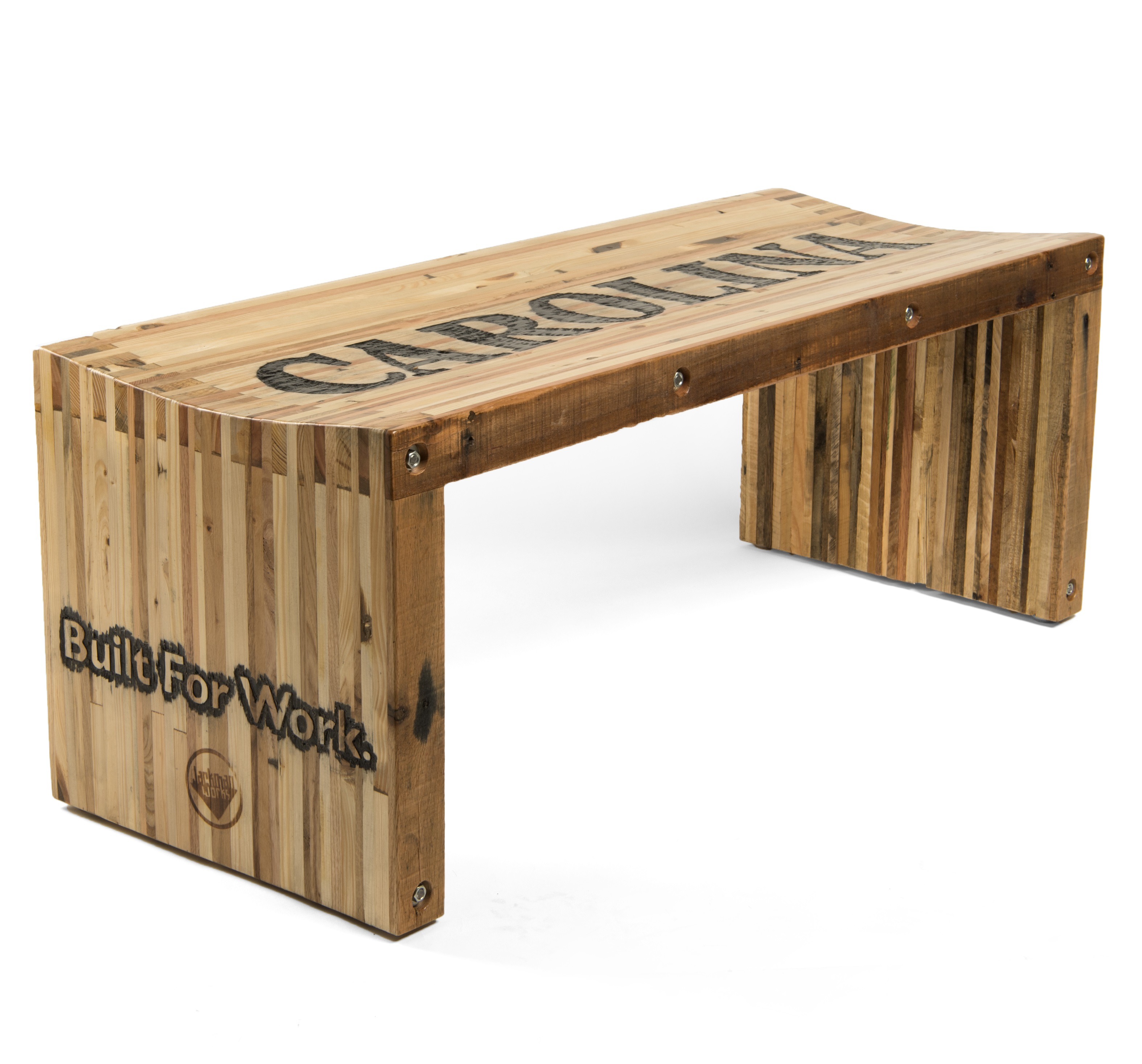 Picture of Pallet Wood Slat Bench