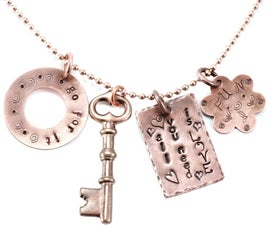 Stamped Charms for Personalized Metal Stamped Jewelry With Tracy Stanley at Beaducation - Step by Step Jewelry Making Video Tutorials