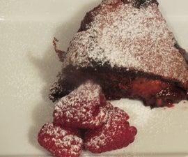 Red Velvet Raspberry Brownie Lava Cake