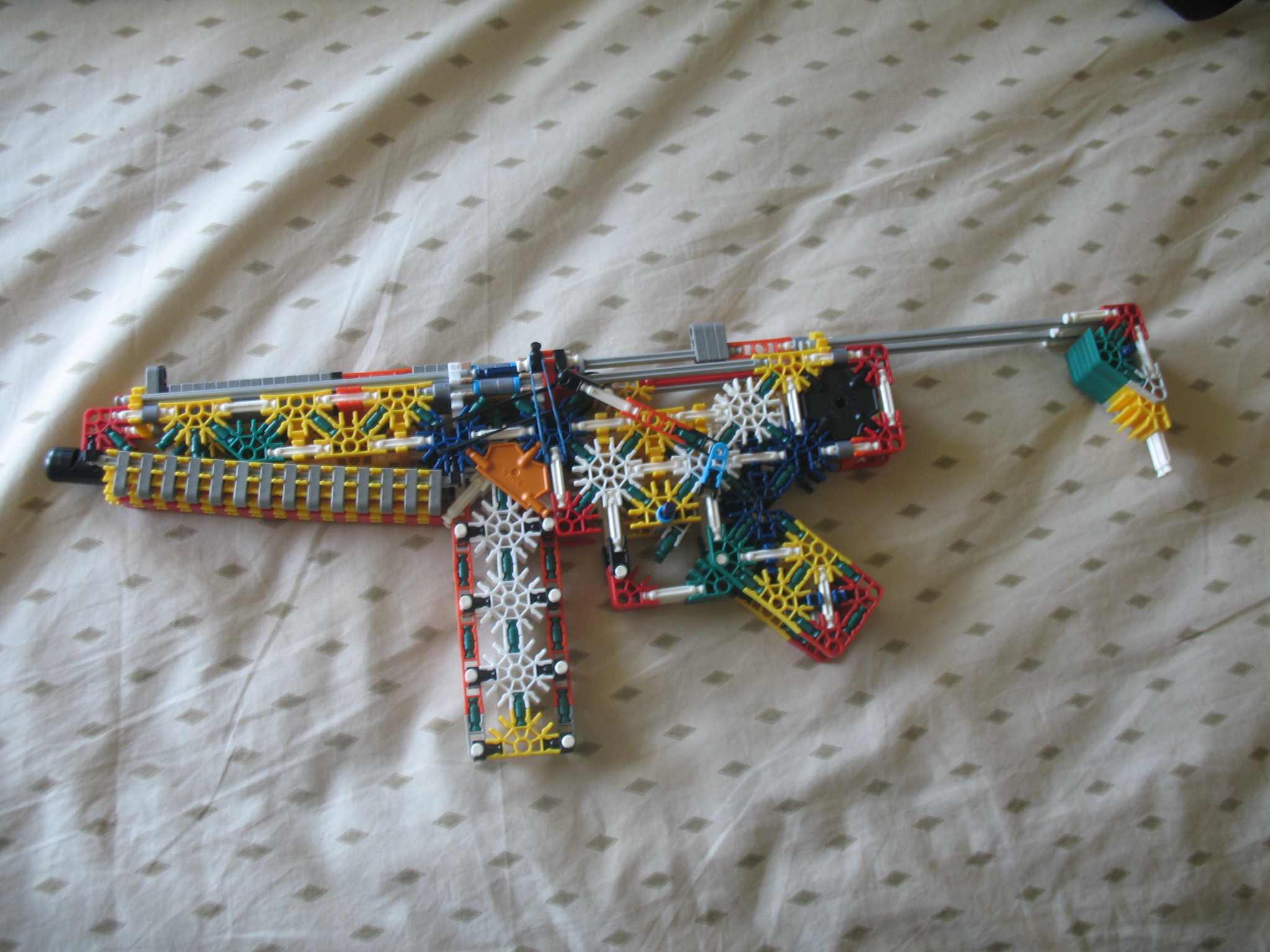Picture of Realistic K'nex Mp5 With Working Magazine and Adjustable Stock .:unfinished:.