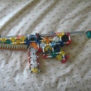 Realistic K'nex mp5 with working magazine and adjustable stock .:unfinished:.