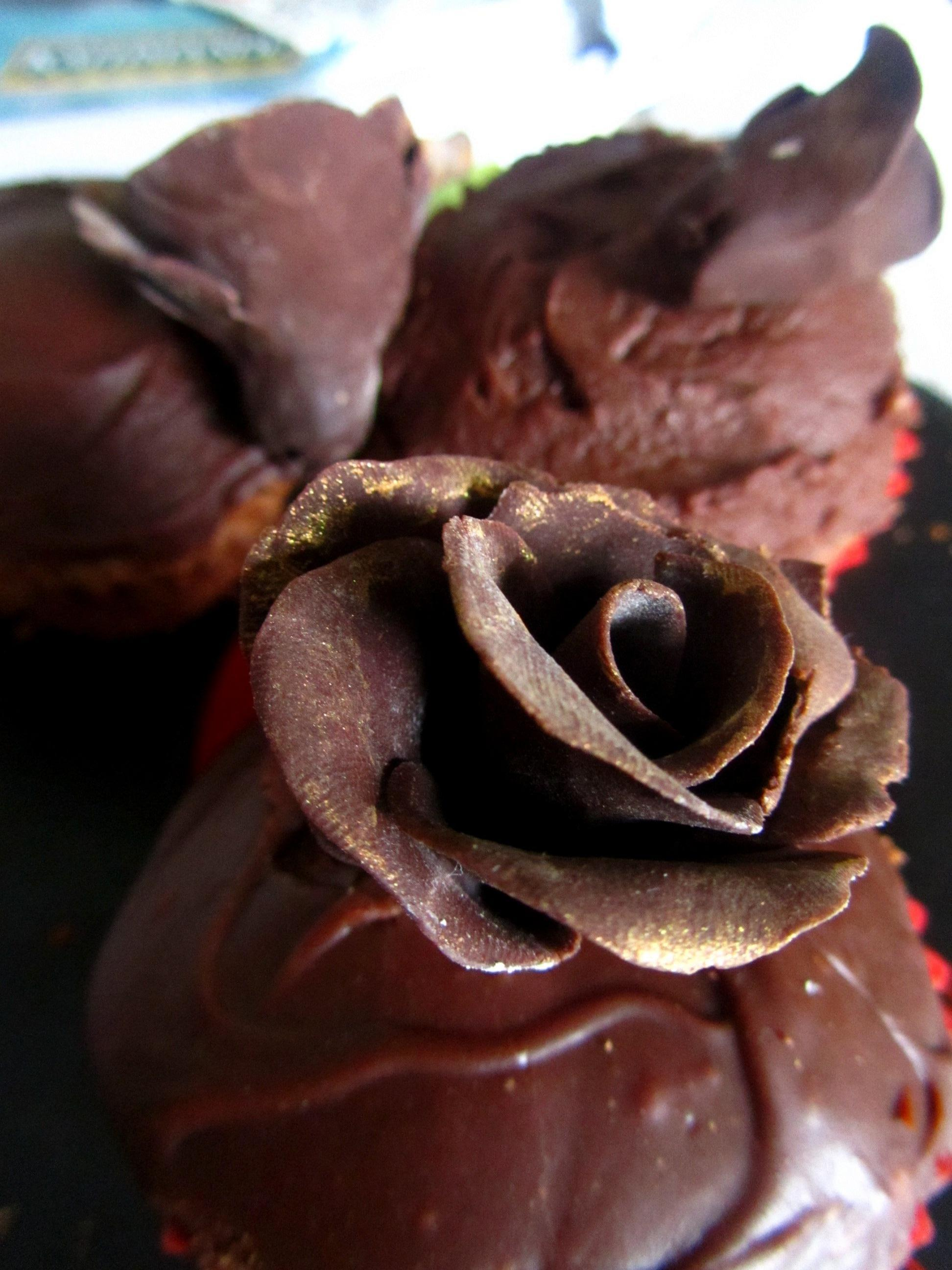 Picture of Modelling Chocolate Roses