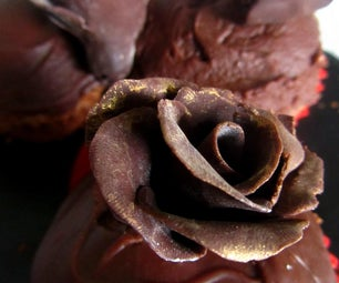 Modelling Chocolate Roses