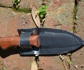 Duct Tape Knife Sheath Build