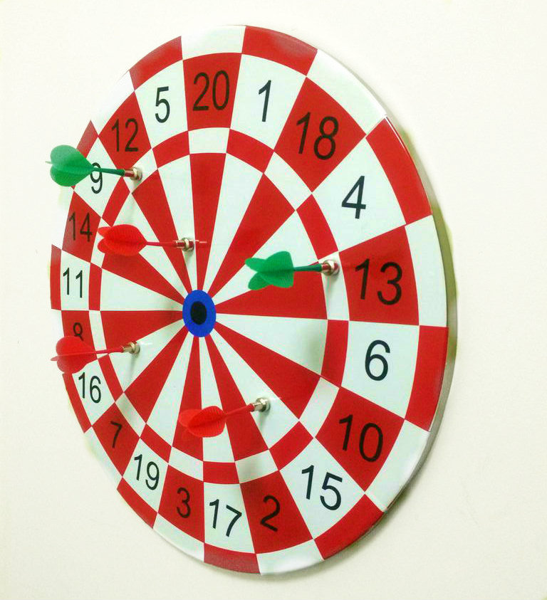 Picture of DIY Magnetic Dart Board