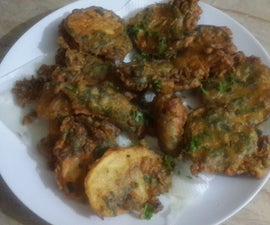 Asian Pakora Snack