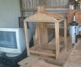 How to Build a Sturdy Frame of Bird Cage Out Off Wood