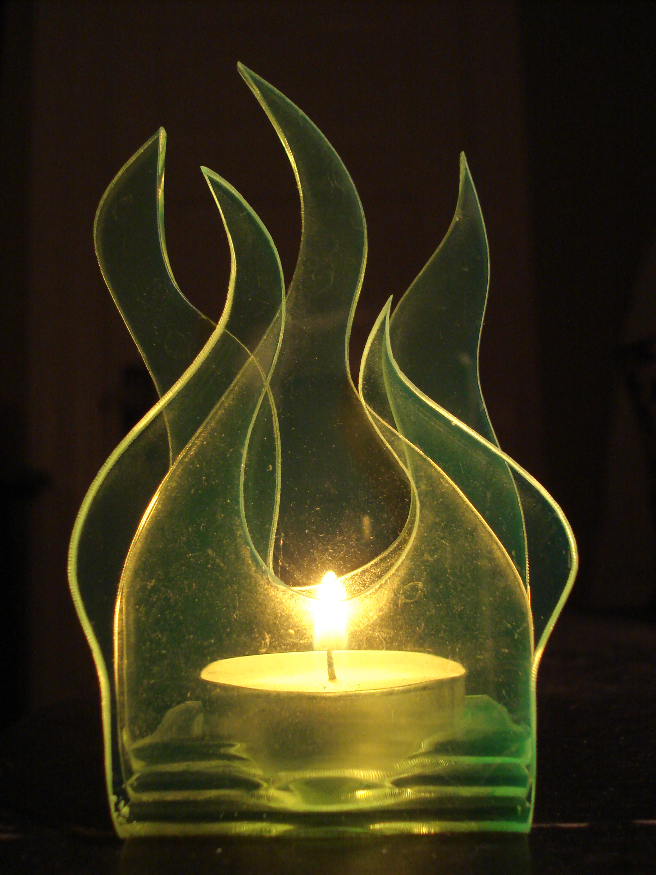 Picture of Acrylic Votive Candle Holder