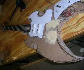 build a custom electric guitar
