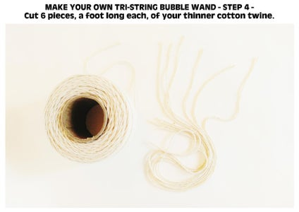 DIY BODACIOUS BUBBLE WANDS - TRI-STRING STYLE WAND