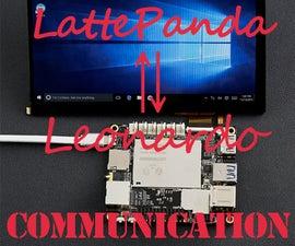 Communcation: LattePanda⇌Leonardo