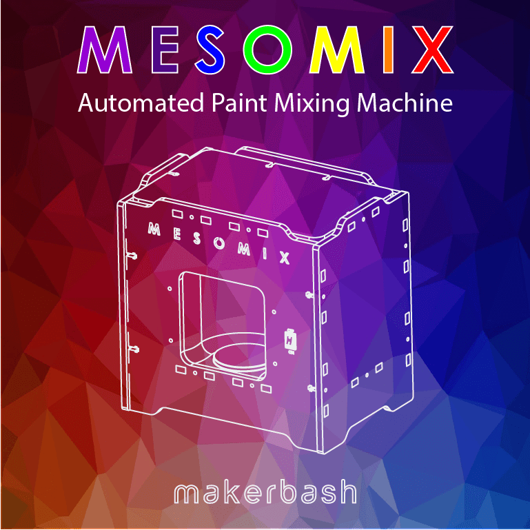 Picture of MESOMIX - Automated Paint Mixing Machine