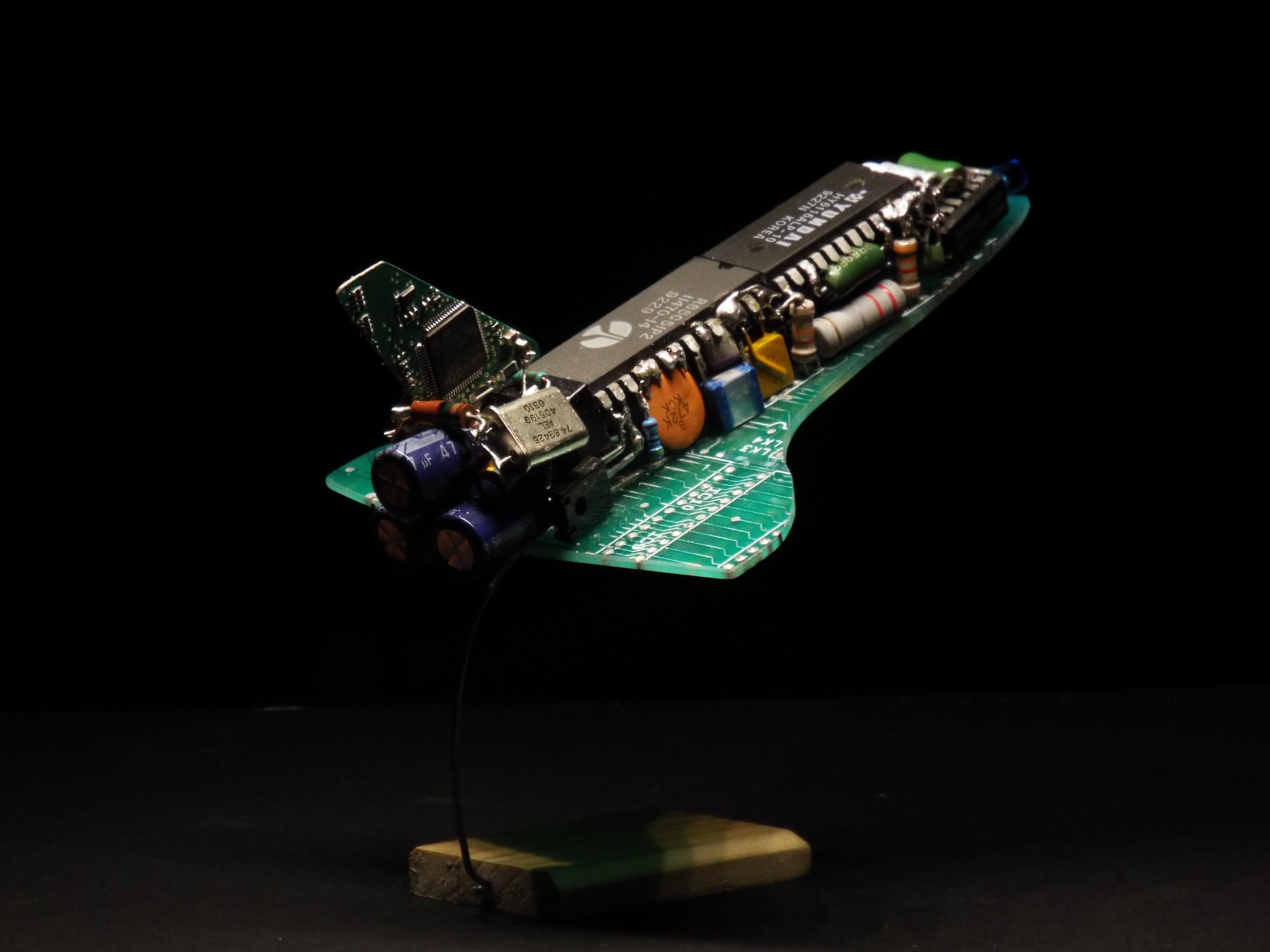 Picture of Electronic Space Shuttle