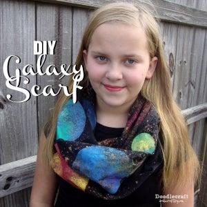 Galaxy Infinty Scarf!