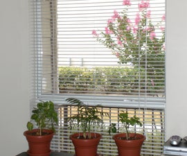 Automatic Window Blinds Controller (PICAXE)