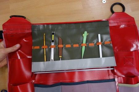 Rool-up Tool Organizer