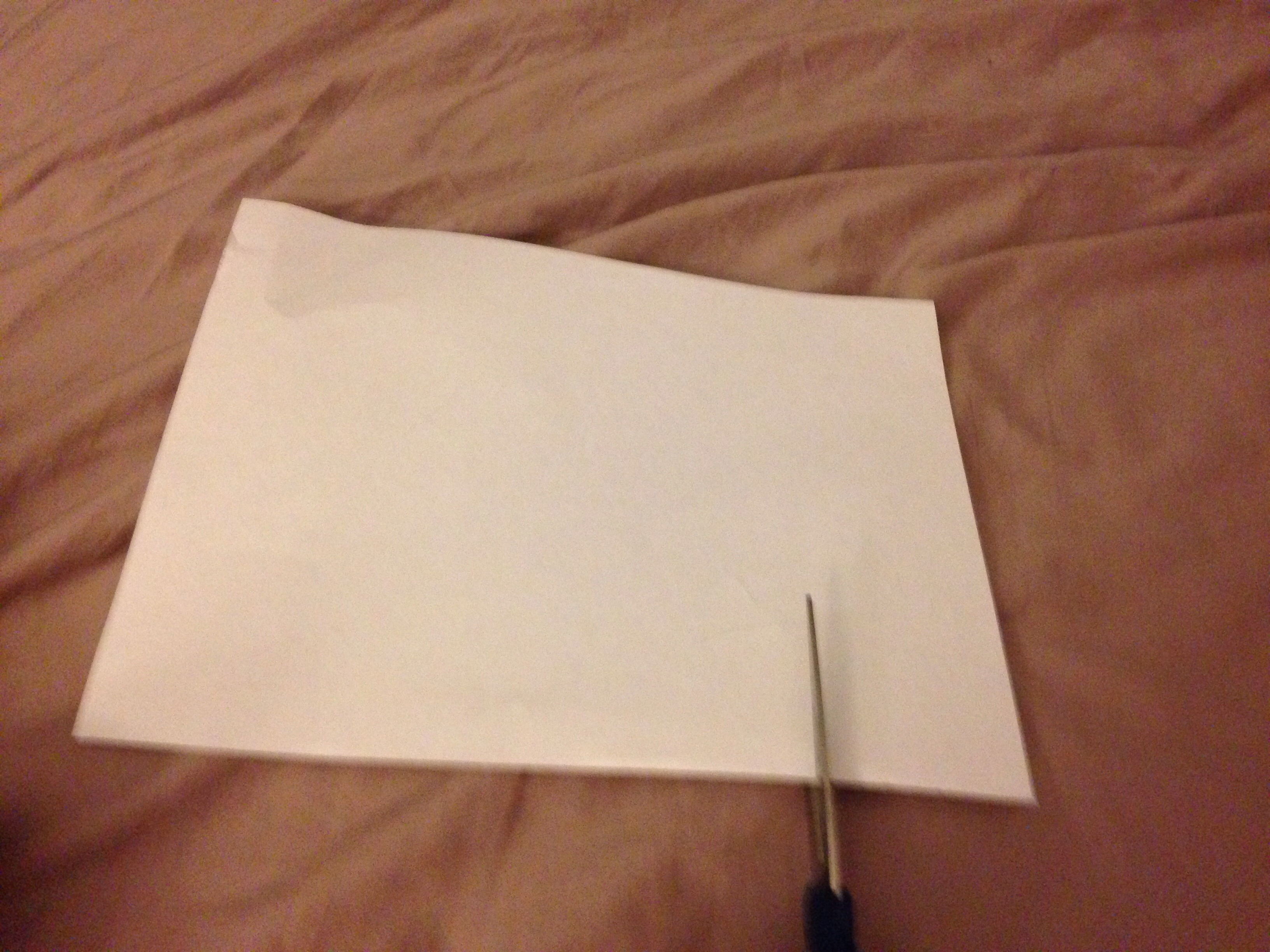 Picture of Making the Snowflake( If You Already Know How to Make a Paper Snowflake, You Can Skip This Step)