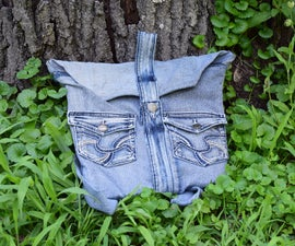 Upcycle Jeans to Backpack