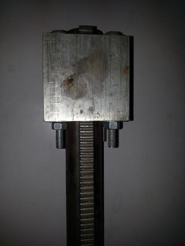 Picture of Rack and Pinion Mechanism to Switch Robot in Two Modes