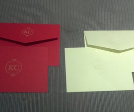 Laser Monogrammed Notecards
