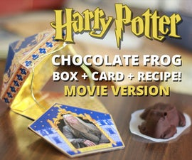 Chocolate Frog Box + Card + Recipe (Movie Version)