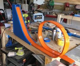 Reclaimed Pallet Hotwheels loop