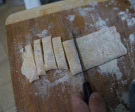 Homemade Garlic/Thyme Pasta