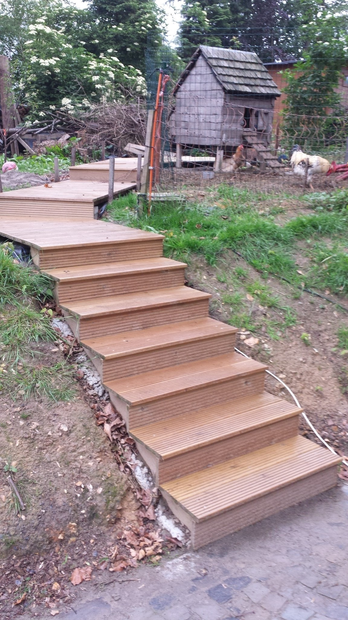 Picture of Easy Garden Stairs