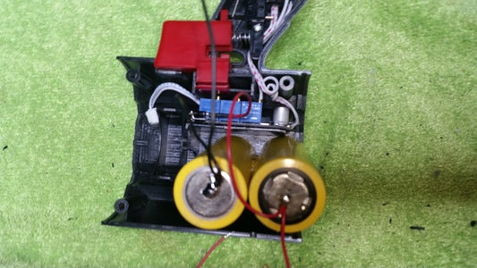 Wiring the Batteries-