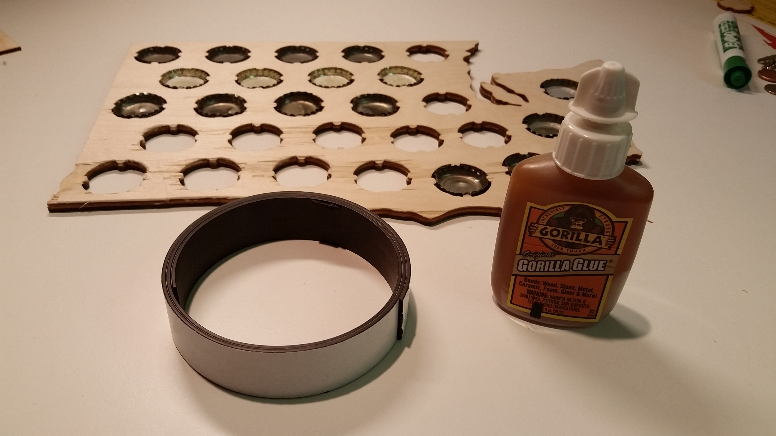 Picture of Gluing and Adding Magnets