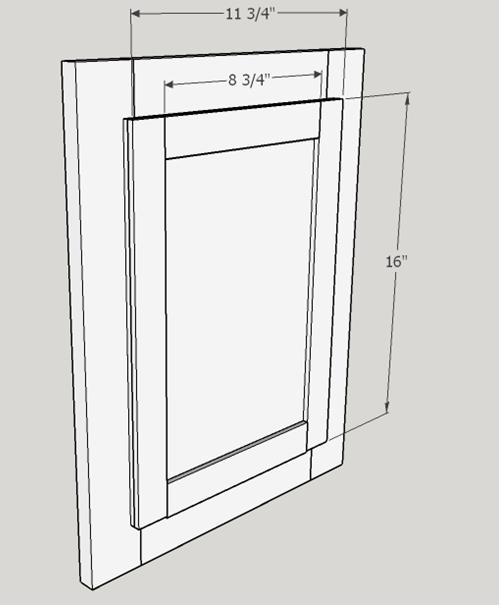 Picture of Door Insert