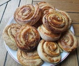 Swedish Cinnamon Rolls (KanelBullar)