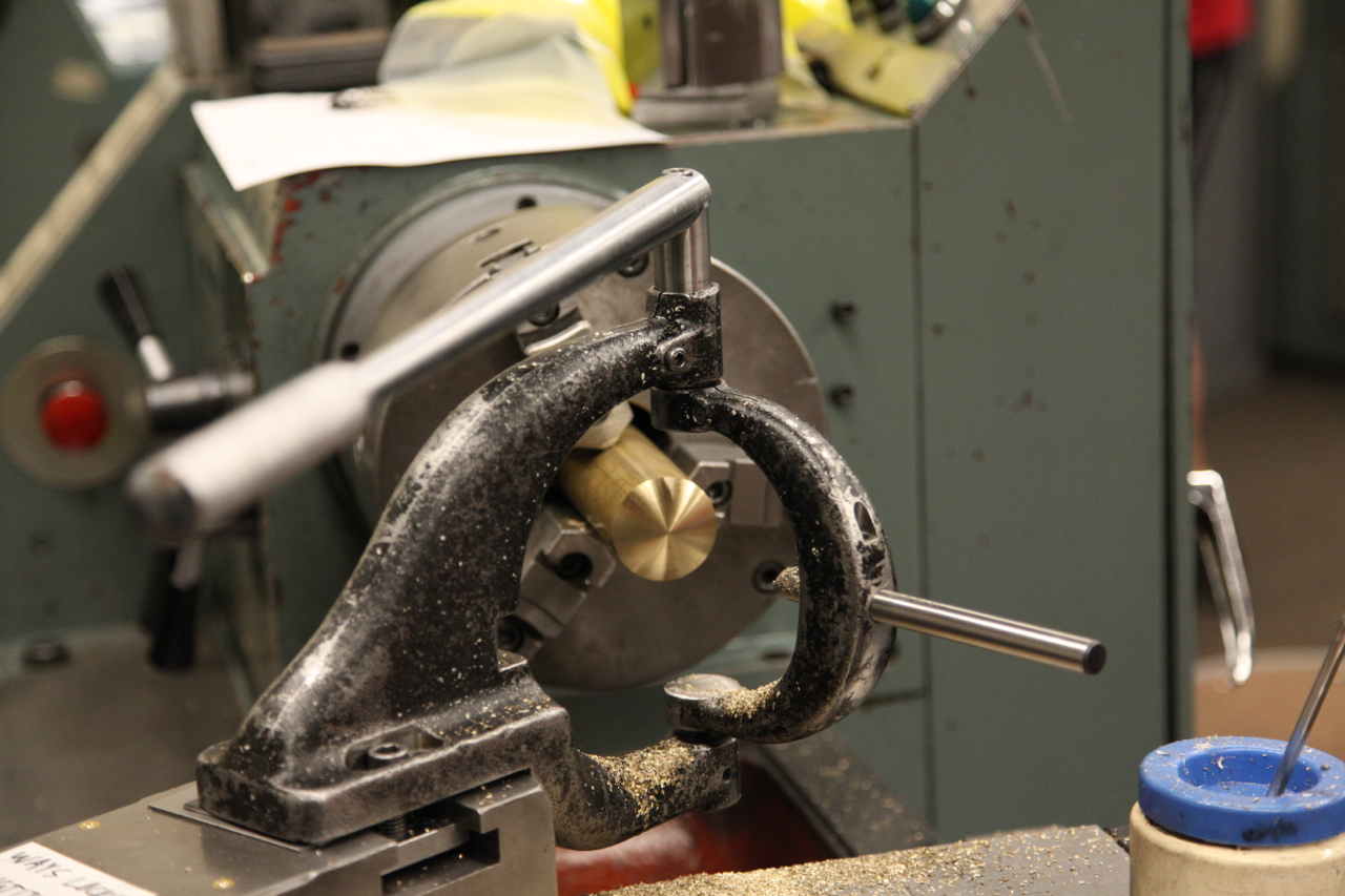 Picture of Machine Top Brass Handle Piece