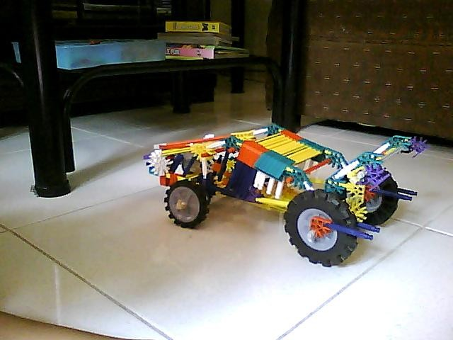 Picture of Knex Car With Steering