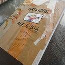 Make a Keepsake Book of your Child's Artwork