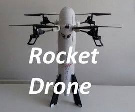 Landing a Rocket Vertically, Without Being a Billionaire Aka Rocket Drone