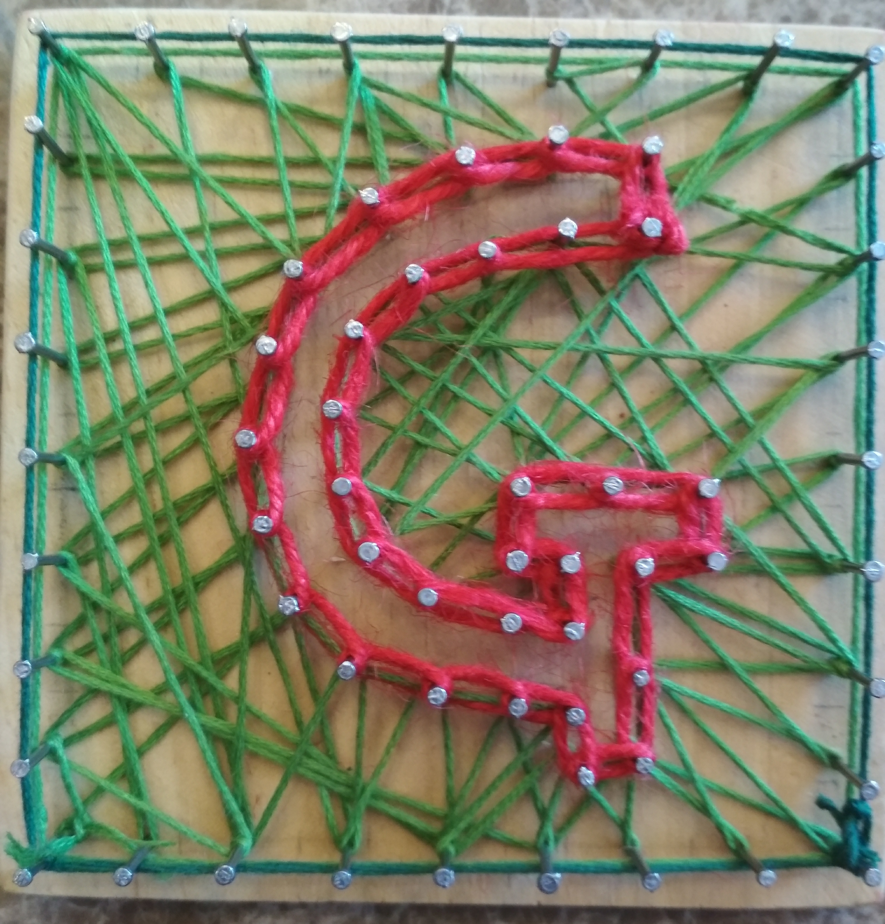 Picture of Simple Thread Art for Kids