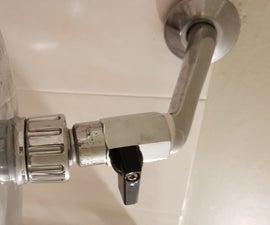 Watersaving: Shower Mixer Alternative