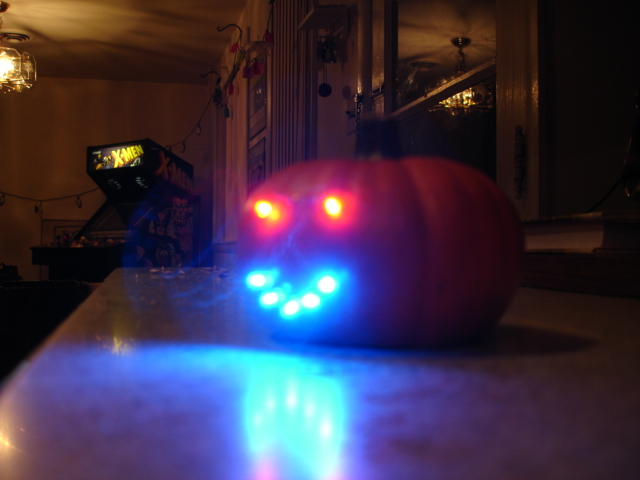 Picture of The Mini Pumpkin LED Face