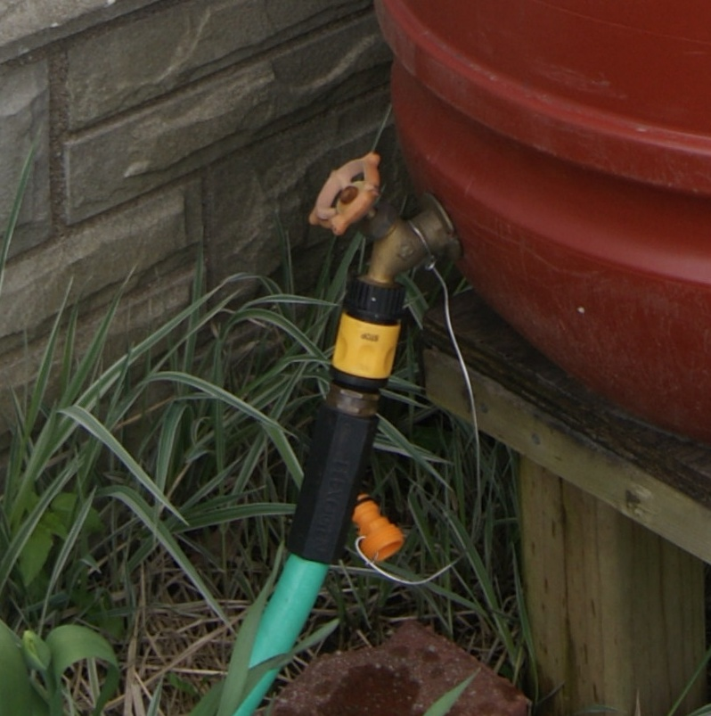 Picture of Quickly Switch From Hose to Watering Can