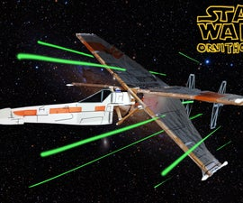 Star Wars Ornithopter / X-Wing vs TIE Fighter