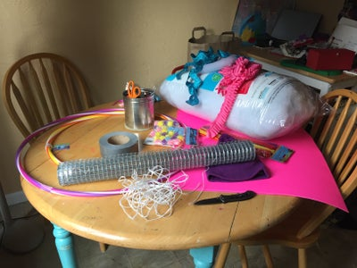 Gather Supplies! This Is a No-sew Project.