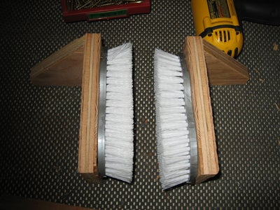 Attach Supports to Brush Sides