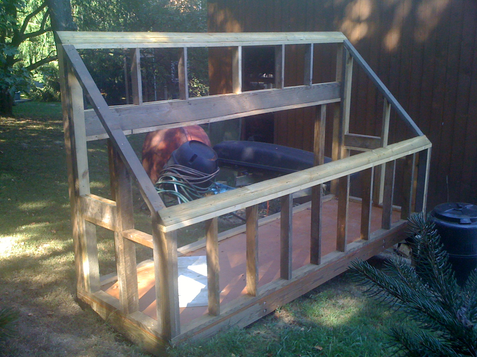 Picture of Building Wall Frames